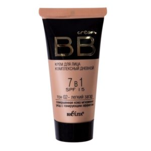 BB cream Bielita Vitex tone natural or light tan.